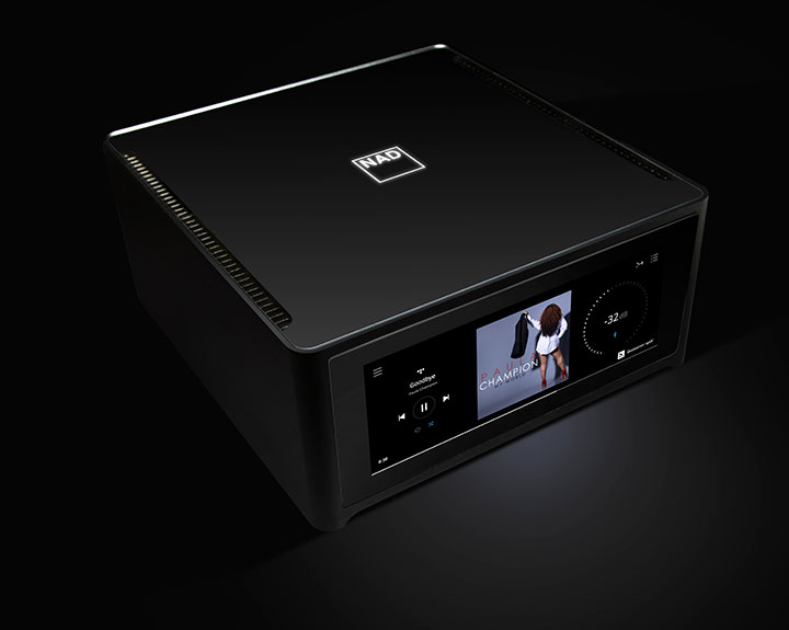 Streaming Amplifier whole home music system